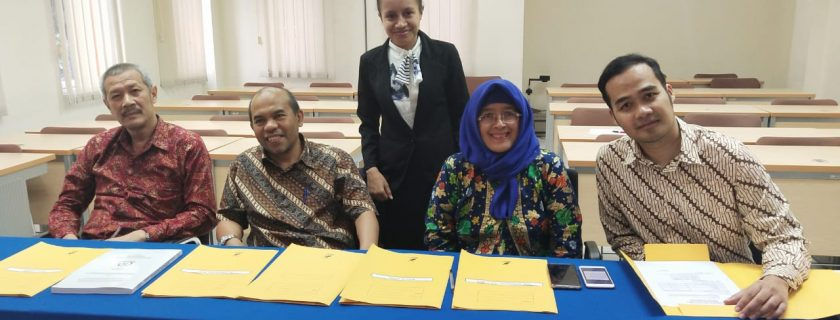 Sidang Tesis Mahasiswi Asal Timor Leste