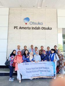 Kunjungan industri ke PT Amerta Indah Otsuka