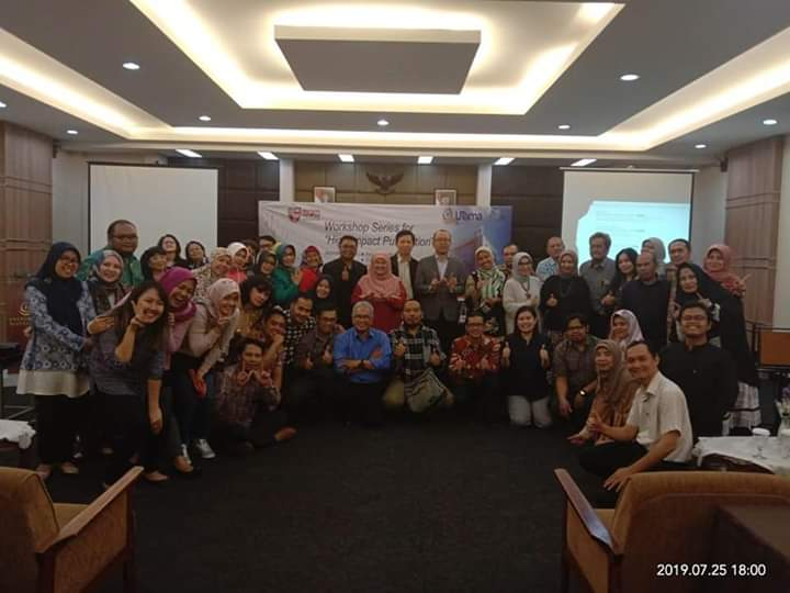 Dosen Magister Manajemen mengikuti Workshop Series for High Impact Publication