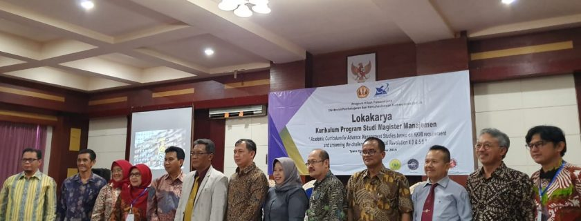 Lokakarya Pengembangan Kurikulum Program Studi Magister Manajemen